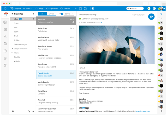 IceWarp Mail Server - E-Mails, TeamChat, Documents and Apps